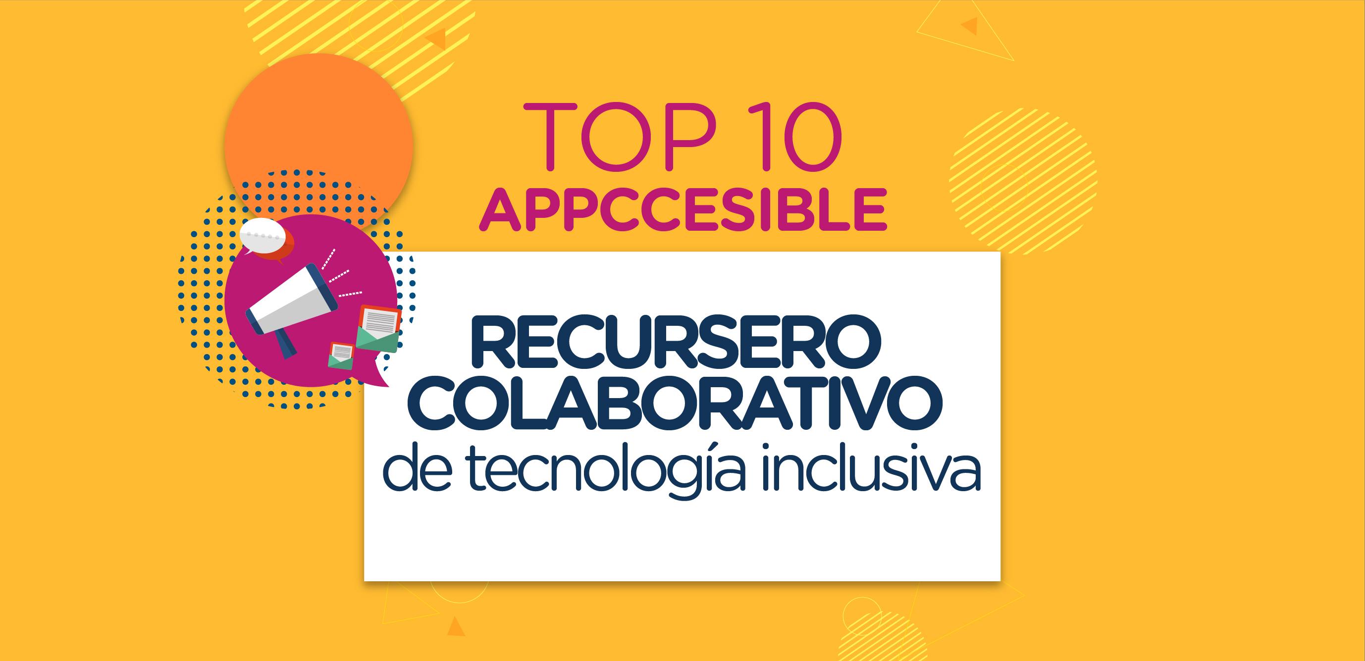 link a recursero appcesseble top 10 de las mejores apps, ingresar