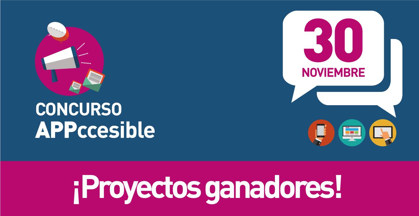 Concurso appccesible. proyectos ganadores